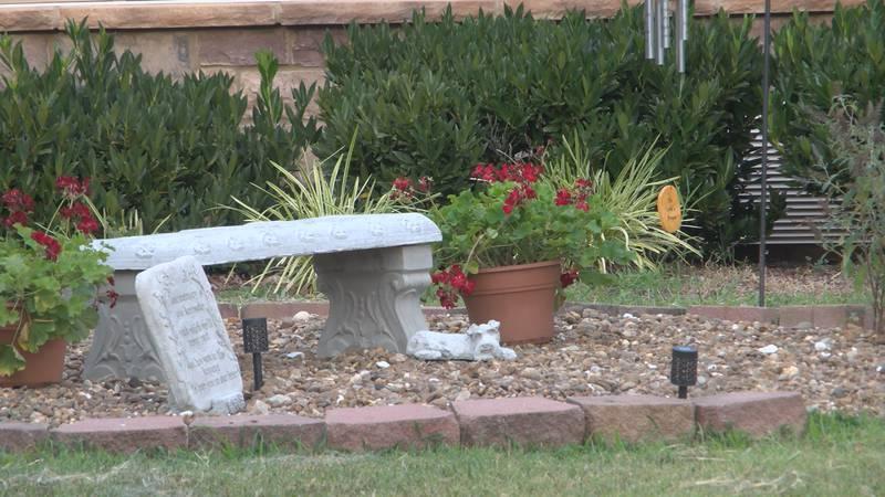 Memorial Garden at Creekwood Nursing and Rehabilitation