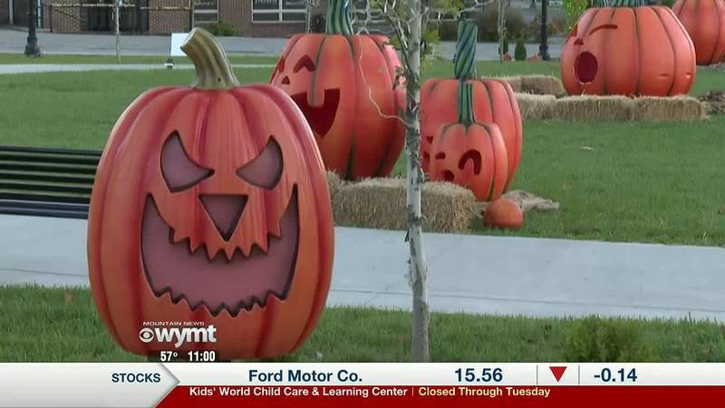 'Pumpkin Park' returns to London, providing more Halloween fun - 11:00 p.m.