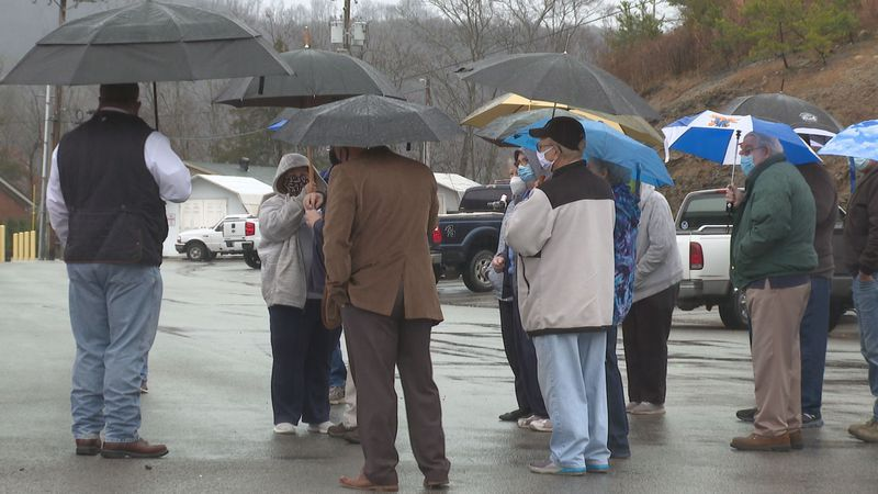 Pastors and community members came together to pray for those in the facility affected by...