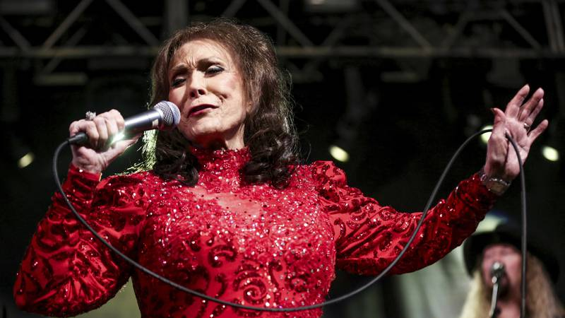 FILE - Loretta Lynn performs at the BBC Music Showcase during South By Southwest on March 17,...