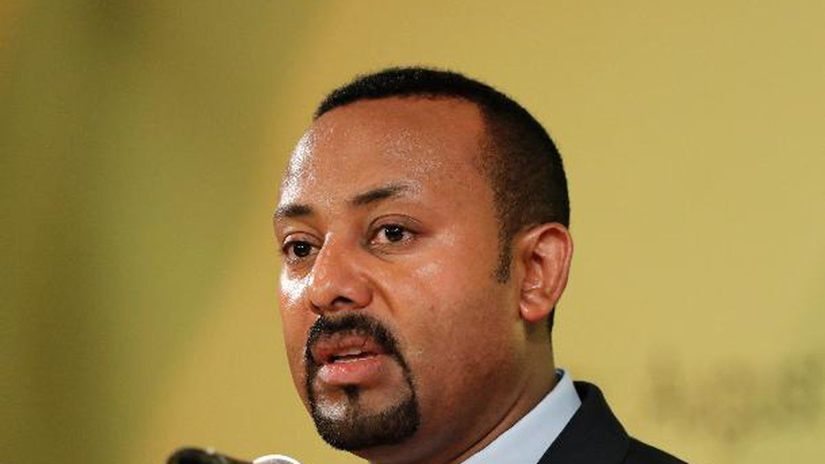 The 2019 Nobel Peace has been awarded to Ethiopian Prime Minister Abiy Ahmed. (AP Photo/Lee...