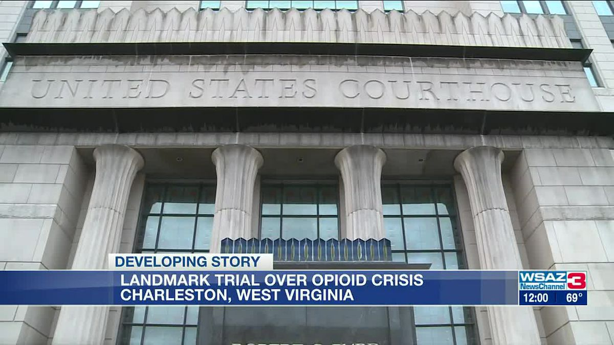 Federal trial against opioid distributors begins in West Virginia