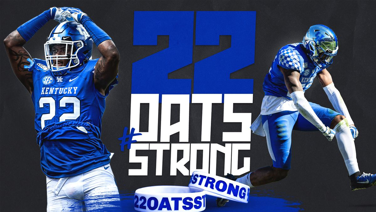 Kentucky Football to Honor Chris Oats by Rotating No. 22.