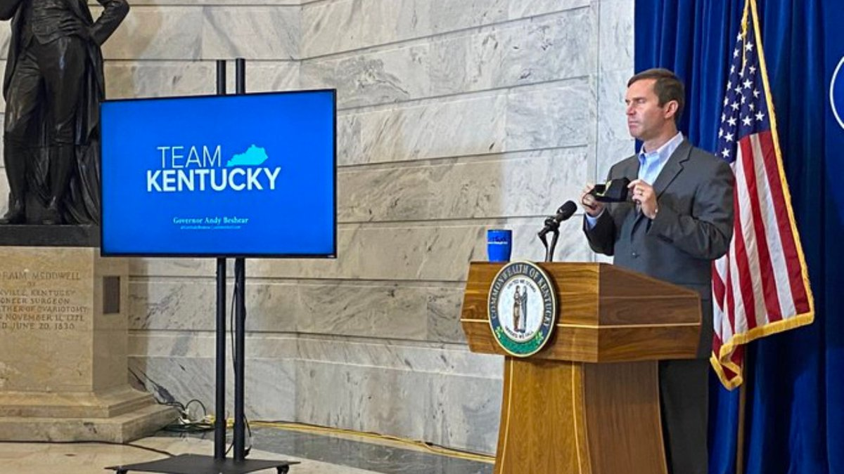 Gov. Andy Beshear provides Kentuckians with an update on COVID-19.