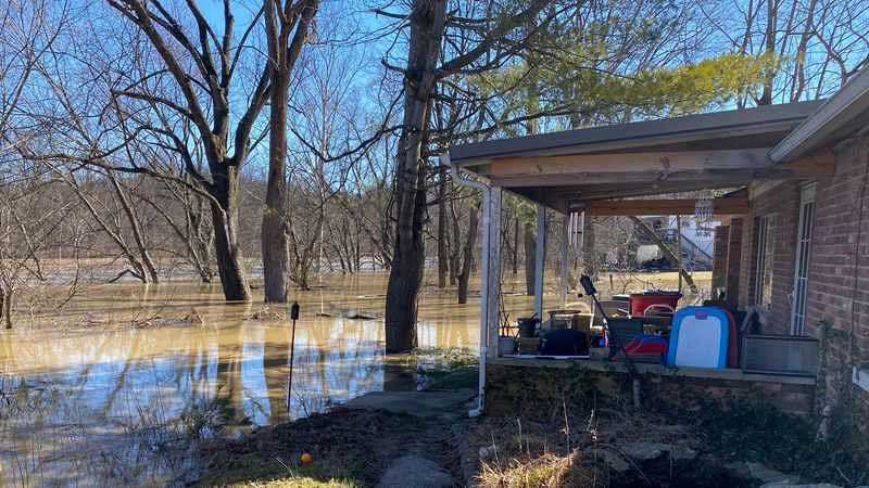 Franklin County officials said this flood is on track to be the eighth worst in the county's...