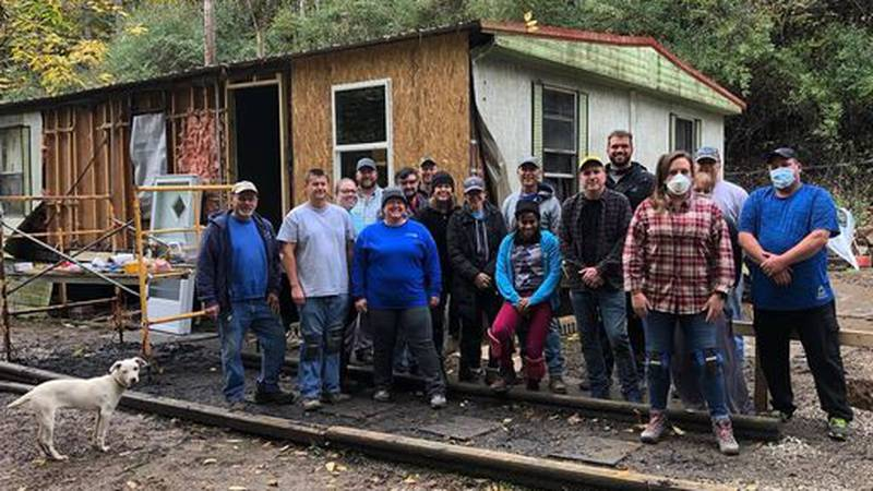 Eastern Kentucky family gets help repairing home