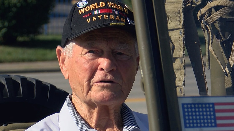 Seventy-six years later, 93-year-old WWII veteran Vince Gramarossa said he is still a proud...