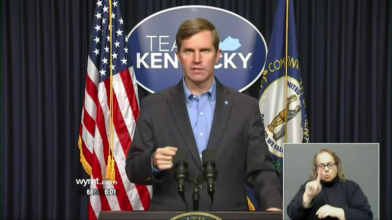 Governor Beshear announces pause of Johnson & Johnson COVID-19 vaccine use in Kentucky at 6