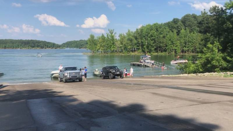 Barren River Lake on 4th of July weekend.