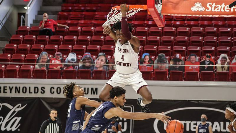 Junior Tre King led a balanced scoring effort for EKU (1-0), posting a double-double of 15...