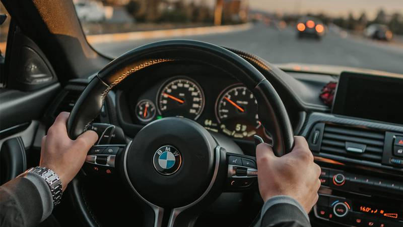 Driving related image