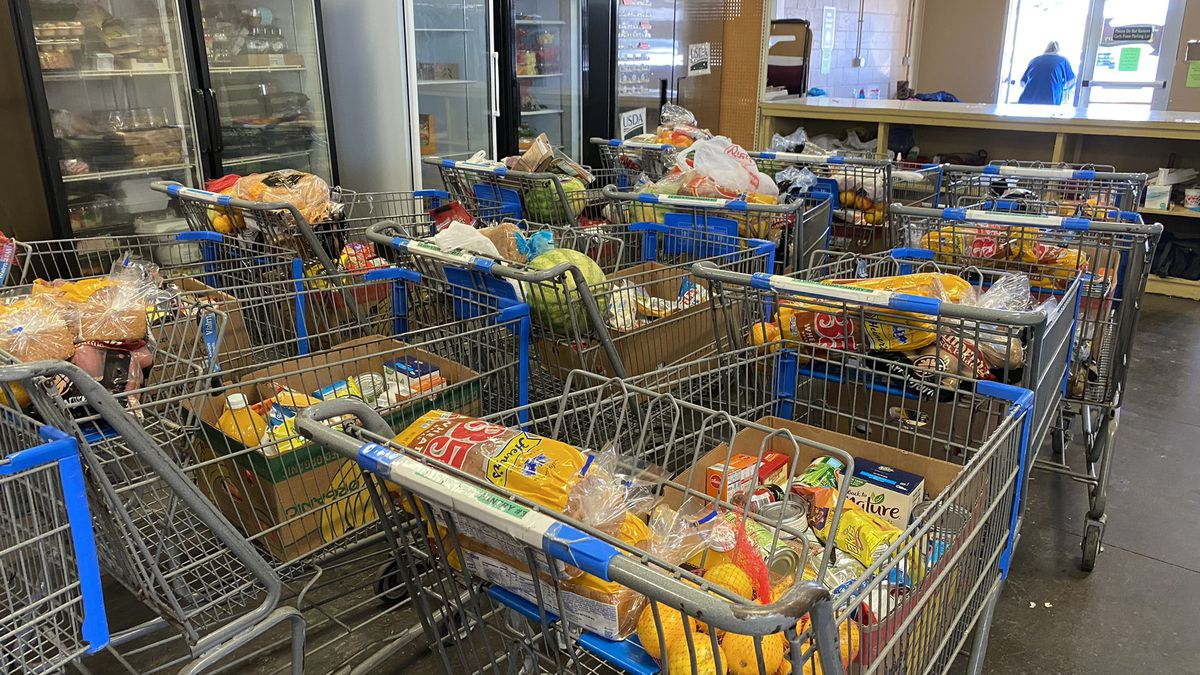 """Food bank in Somerset expects busy time during holidays, then even more when electric cut-offs..."