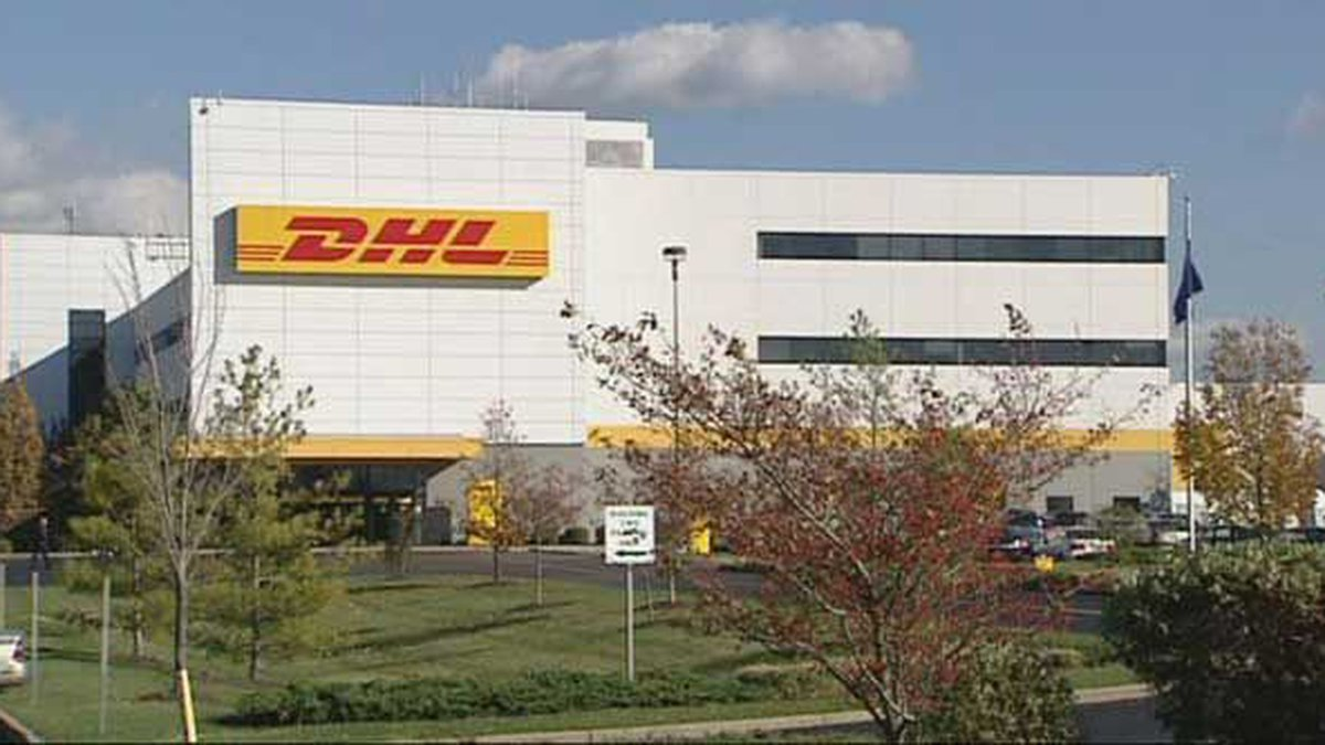 A DHL worker was hurt overnight at one of the facility's sorting buildings at its hub at...