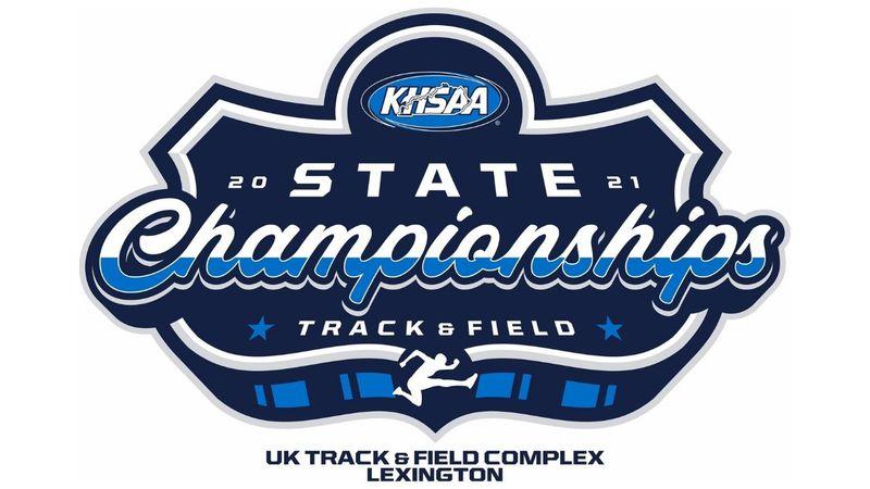 KHSAA State T&F Logo