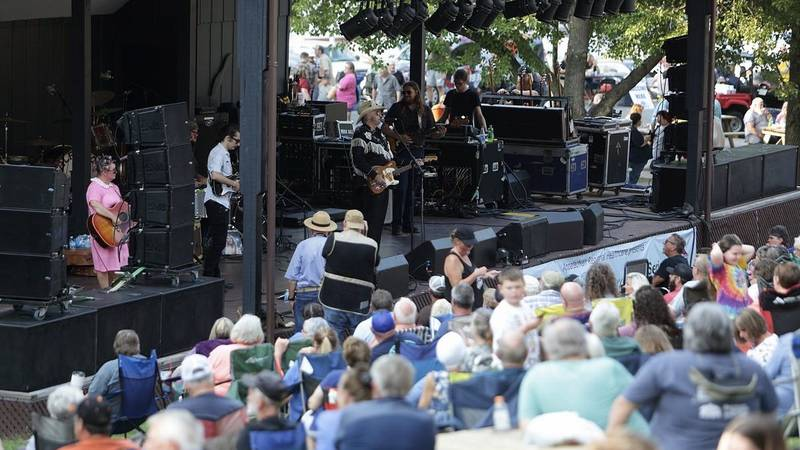 City of Whitesburg off to a great start with Levitt Amp Music Series