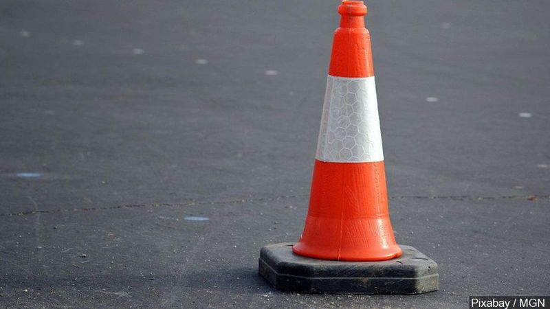 Avoid Lansing Road and 496 this weekend. The bridge over the road will be closed until Monday.