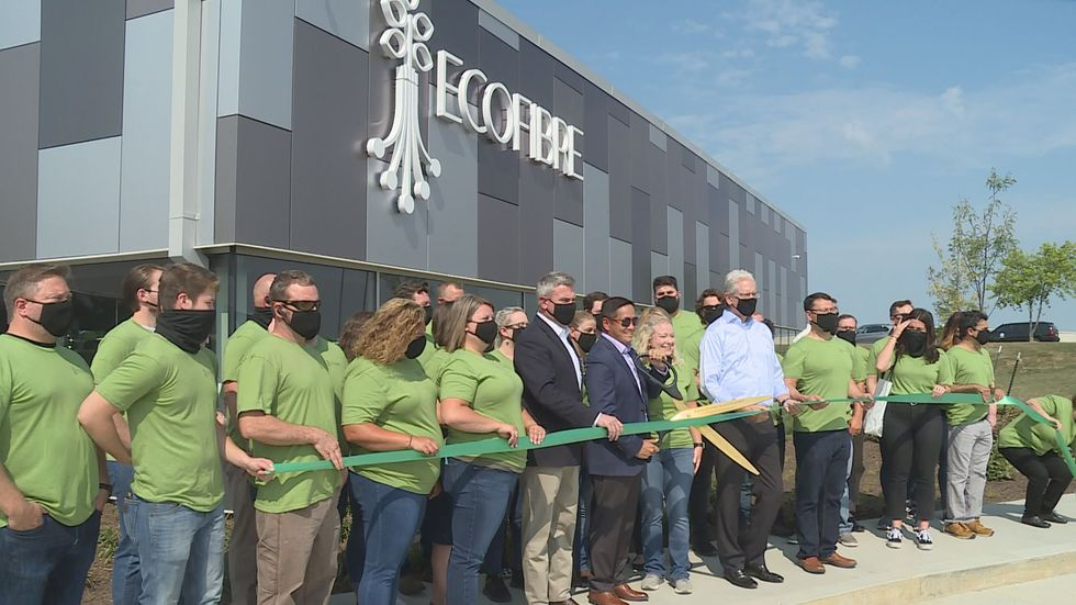 What was once a vision, became reality Monday as the community celebrates the grand opening of a new state of the art hemp facility in Georgetown.