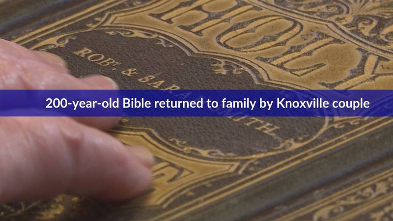 200-year-old Civil War-era Bible engraved with names of original owners