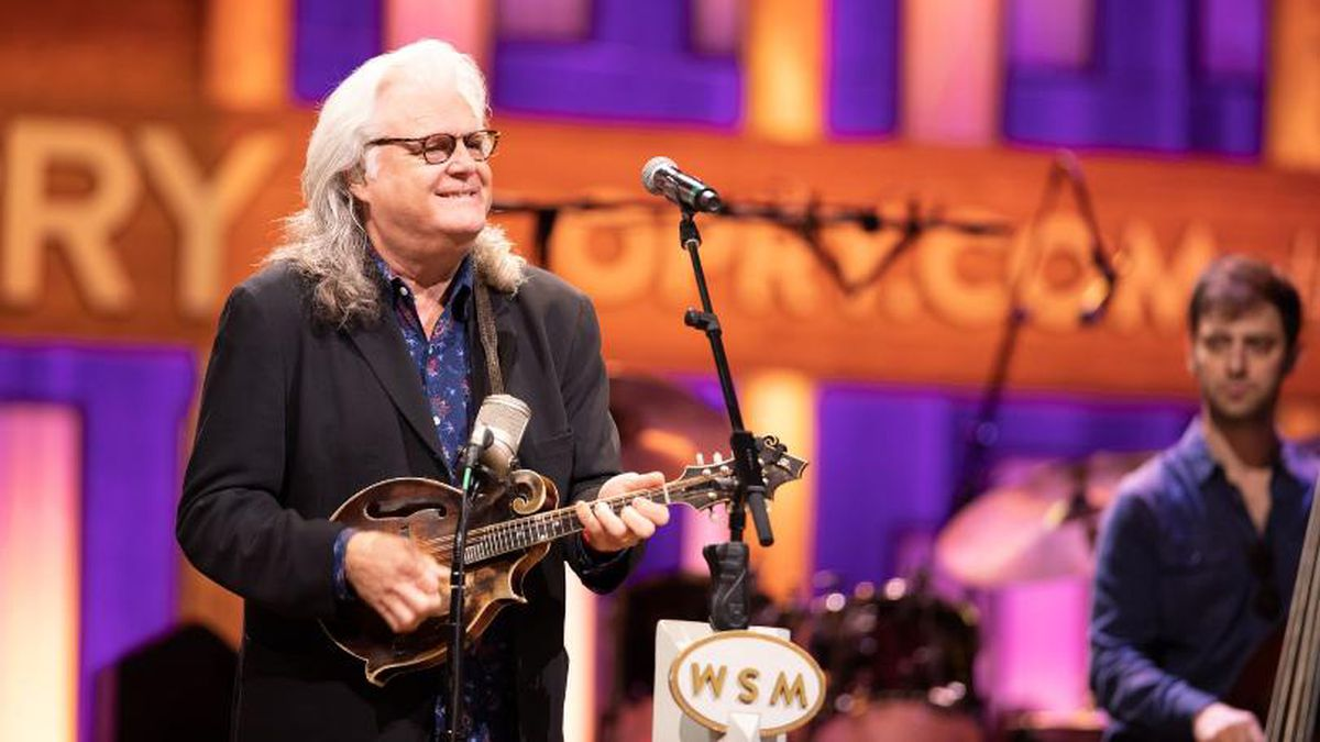 Ricky Skaggs is among the performers for Bluegrass Night at the Grand Ole Opry for Saturday's...