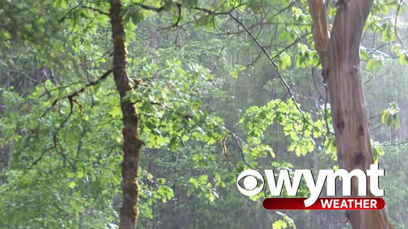 WYMT Scattered Showers