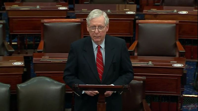 McConnell announces finalization of long-delayed COVID-19 aid