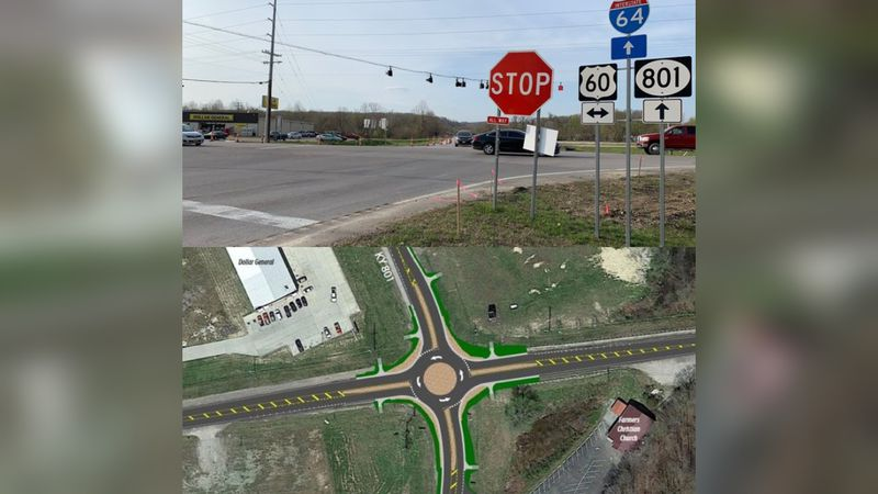 It'll be the first roundabout in northeastern Kentucky. Some drivers are giving the safety...