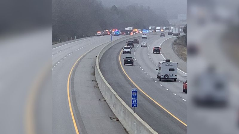 No injuries were reported, but during the cleanup, state police say traffic is being rerouted...