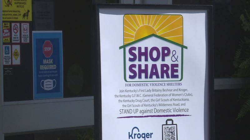 The event benefits domestic violence shelters in Kentucky.
