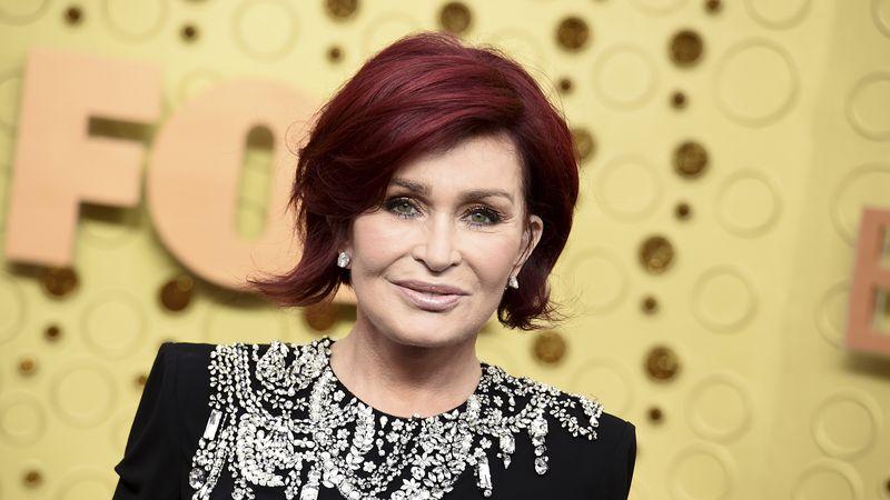 FILE - Sharon Osbourne arrives at the 71st Primetime Emmy Awards on Sept. 22, 2019, in Los...