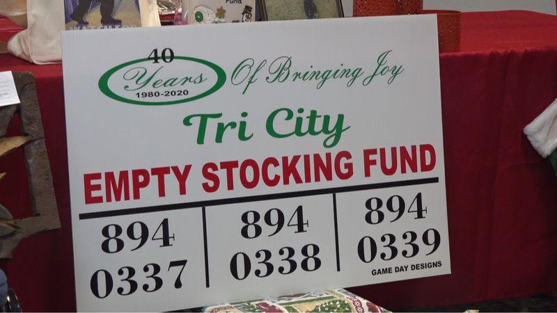 Tri-City Empty Stocking Fund Auction