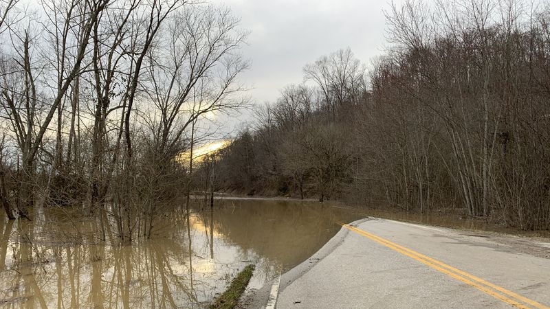 Officials say Owsley County trapped by flooding