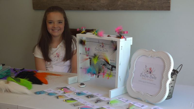 Quarantine inspires Clay County girl to start custom bait business
