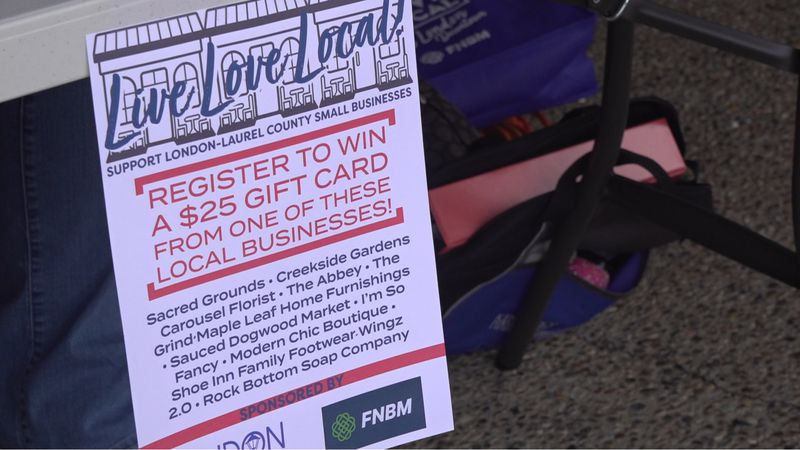 London hosts Small Business Saturday event