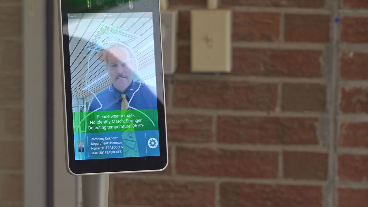 New devices in the school entrances will scan students, staff, and visitors for temperature...