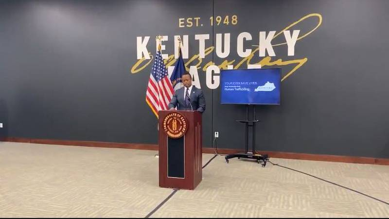 Attorney General Daniel Cameron was in Lexington Thursday morning to announce a new partnership...