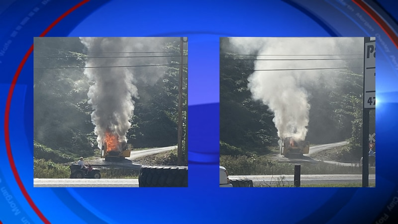 A Perry county school bus caught fire Monday morning. No injuries were reporter. Children on...