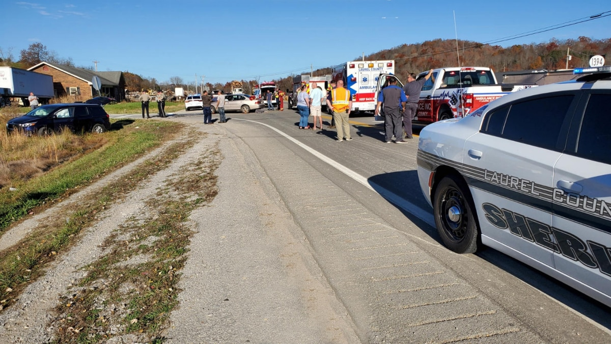 One man is dead after a fatal crash in Laurel County Tuesday afternoon.
