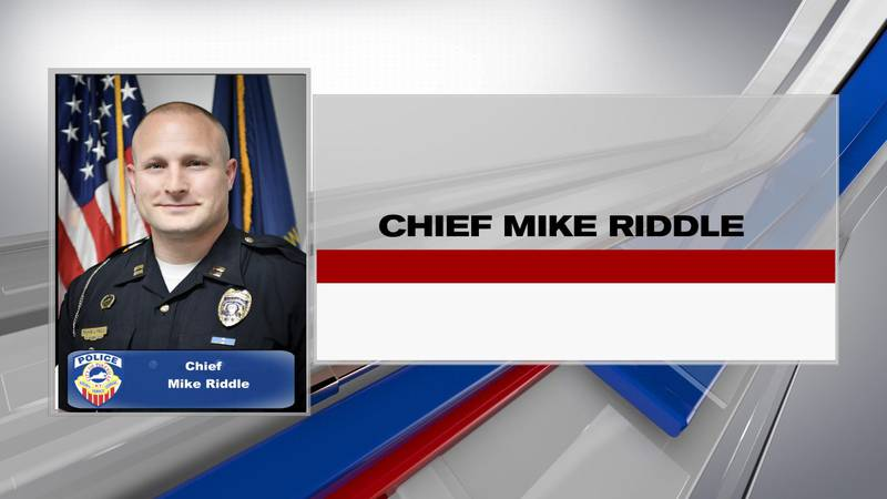 Mike Riddle, the newly appointed chief of police in Pikeville, has big goals for the department.