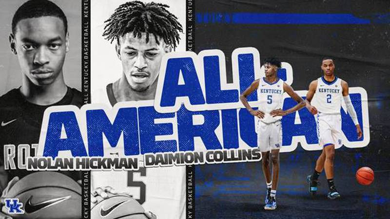 UK's men's basketball commitments have been selected as All Americans