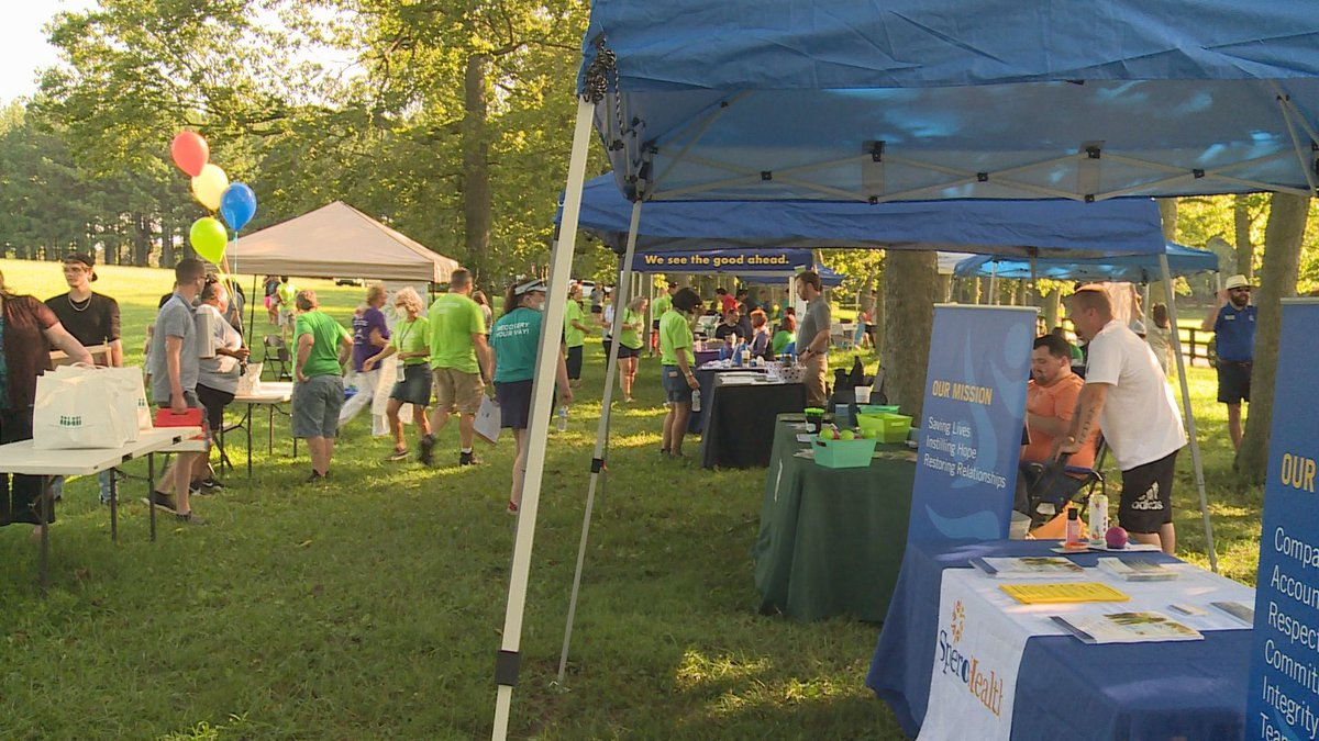 Voices of Hope held its 8th annual Overdose Awareness Day Saturday morning at Jacobson Park.