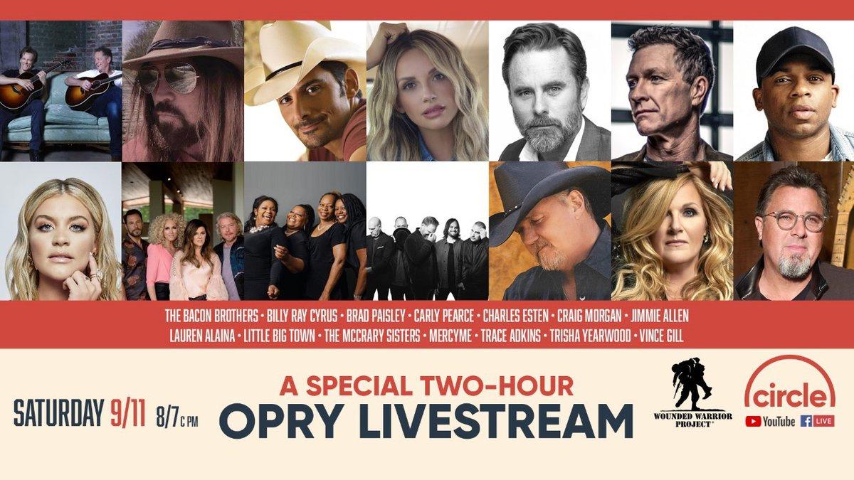Opry 2 hour stream