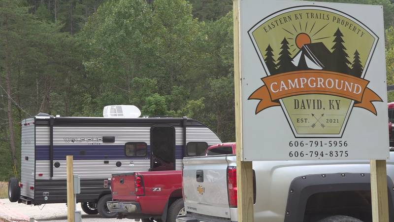 The campground in David is now ready for visitors.