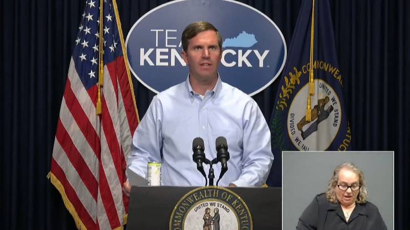 Gov. Beshear says he will provide weekly updates on various issues on Thursdays at 12:30 p.m.