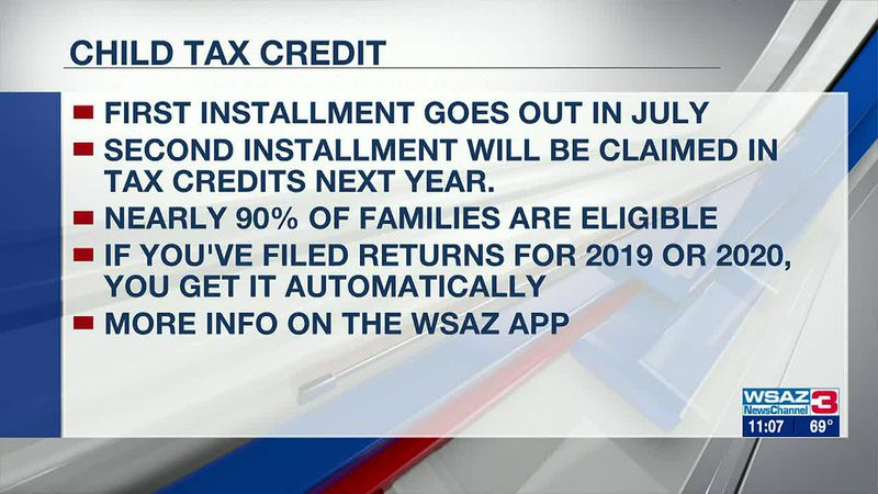 Child tax credits start going out next month