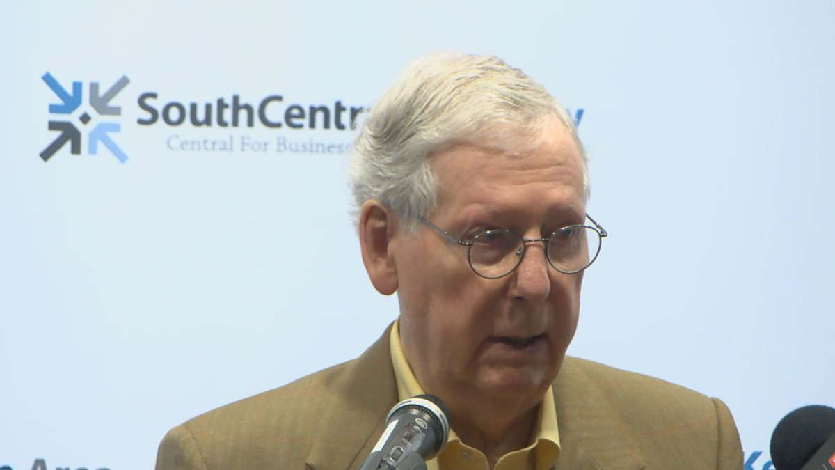 Sen. McConnell meets with business leaders