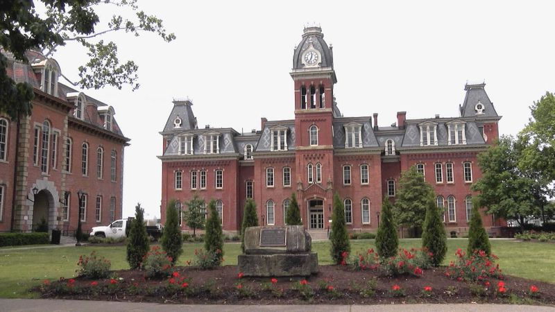 School officials say over the weekend, social media posts showed large parties at fraternities...