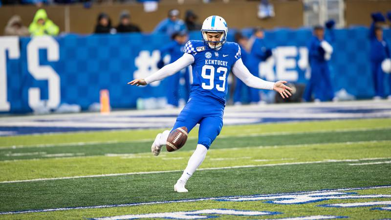 Max Duffy.<br /><br />Kentucky beats UT Martin  50-7.<br /><br />Photo By Jacob Noger   UK...