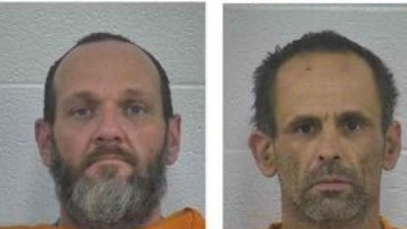 Left: John Peters, Right: Gary Anderson  Photo Credit: Laurel County Correctional Center