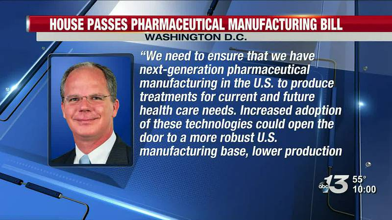 House passes Guthrie's Pharmaceutical Manufacturing Bill