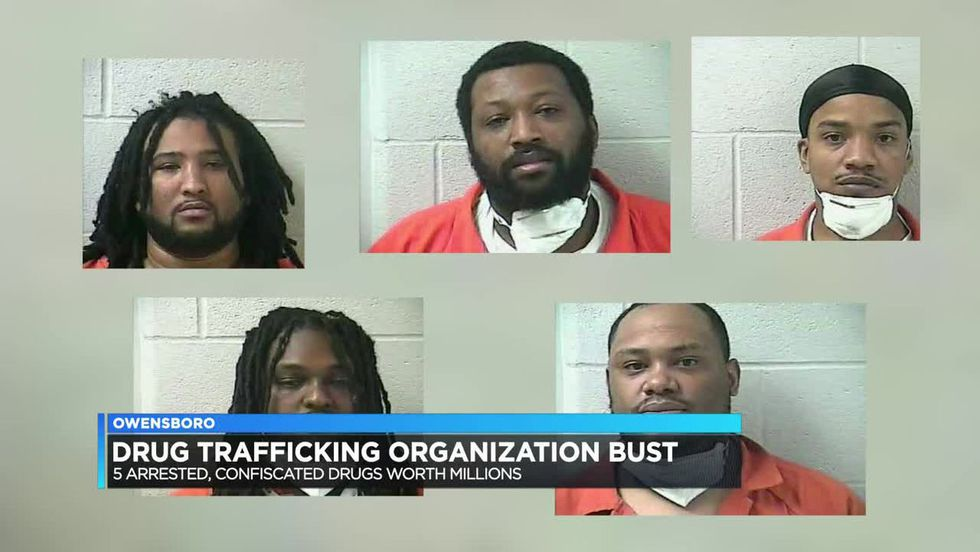 All five men are charged by criminal complaint with Conspiracy to Possess with the Intent to...